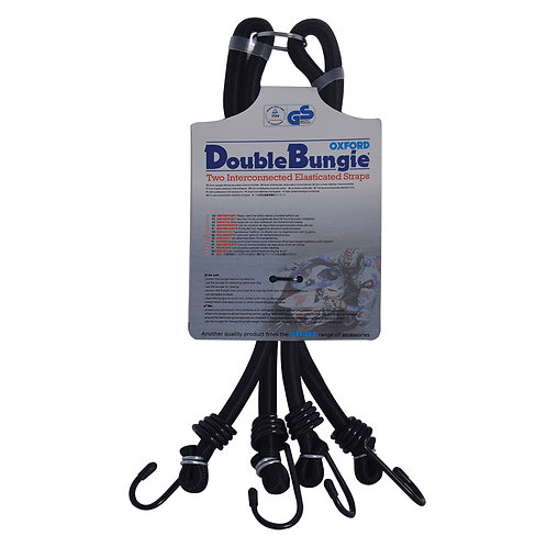 """Oxford Double Bungee Strap System: 24""""/600mm"""
