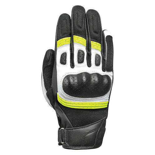 Oxford Glove RP-6S Glove Black White & Fluo
