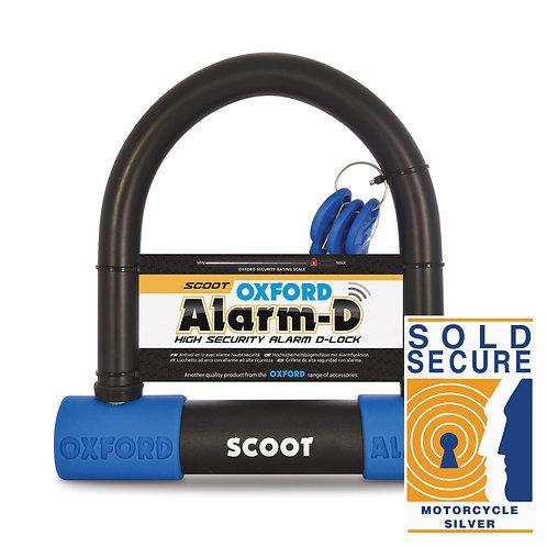 Oxford Alarm-D Lock Scoot (200mmL x 196mmW x 16mm)