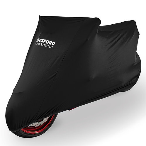 Oxford Protex Stretch Indoor Premium Stretch-Fit Cover Black