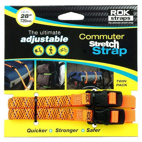 RoK Straps LD 12mm Adj Orange reflective