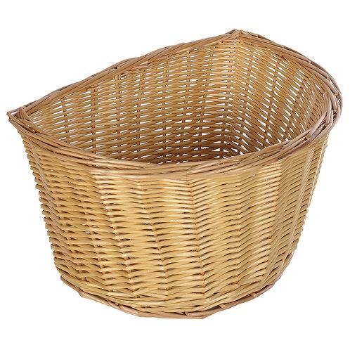 Wicker Basket D Shape