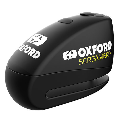 Oxford Screamer7 Alarm Disc Lock Black/Black