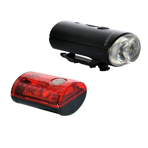Oxford Ultratorch Mini+ Bicycle Light Set