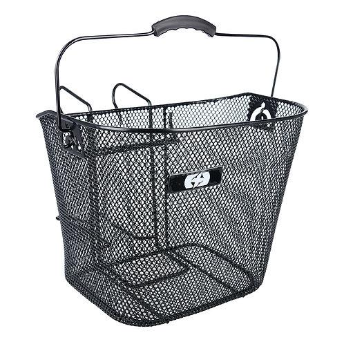 Oxford Black Mesh Basket With Hanger