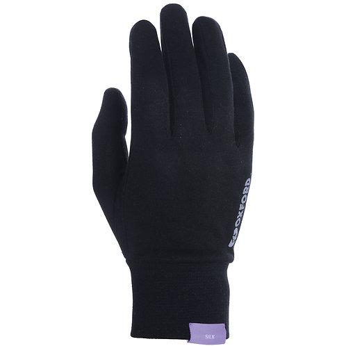 Oxford Deluxe Gloves Silk Blk