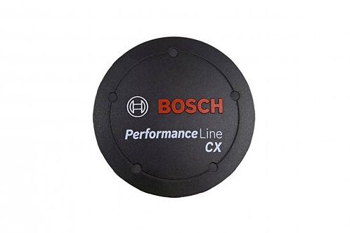 Performance Line CX logo cover, black, if design cover is fitted