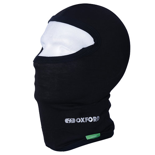 Oxford Balaclava Cotton Black