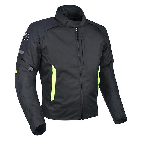 Oxford Toledo 2.0 Jacket Black & Fluo