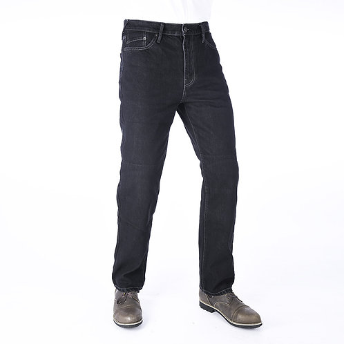Oxford Original Approved Straight Men's Jean Black Long