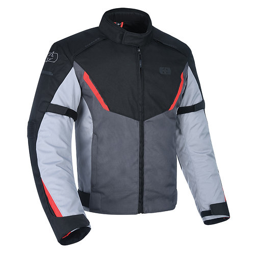 Oxford Delta 1.0 Jacket Black Grey & Red
