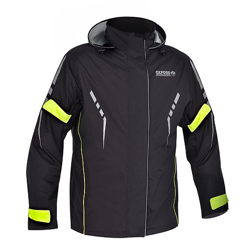 Oxford Stormseal Over Jacket Black