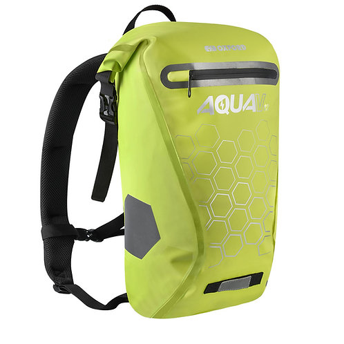 Oxford Aqua V 12 Waterproof Backpack Fluo