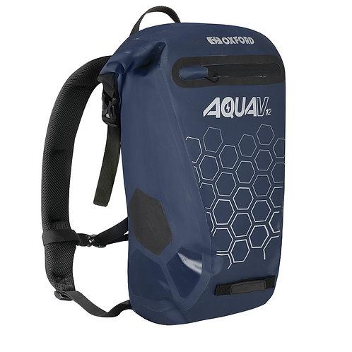 Oxford Aqua V 12 Waterproof Backpack Navy