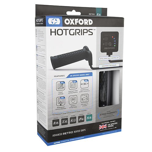 Oxford Hotgrips Advanced Retro UK SPECIFIC