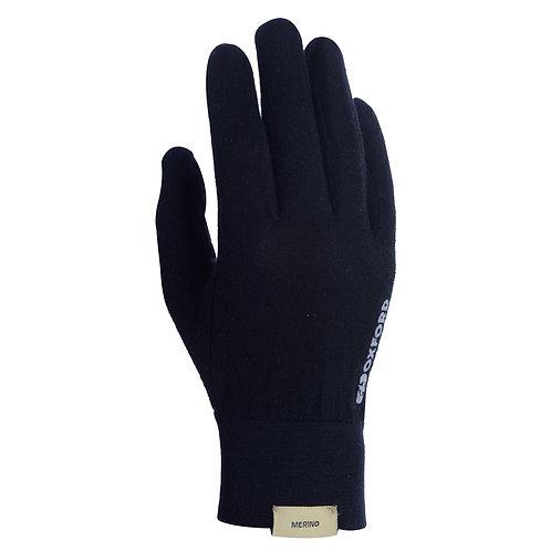 Oxford Deluxe Gloves Merino Blk
