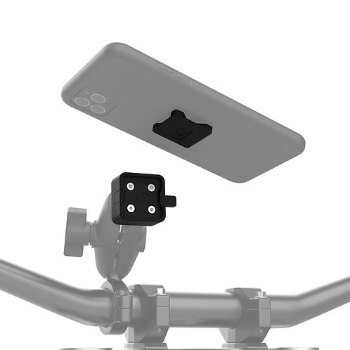 Cliqr OX853 1 Inch Ball Device Mount