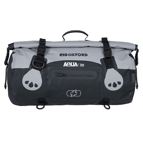 Oxford AQUA T-30 ROLL BAG - GREY/BLACK