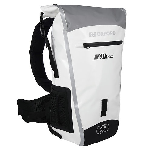 Oxford AQUA B-25 HYDRO BACKPACK - GREY/WHITE