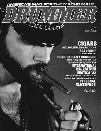JACK FRITSCHER: DRUMMER CIGAR FETISH,  Gus Bernadicou, August Bernadicou