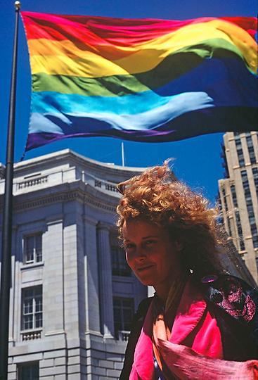 Lynn Segerblom, Faerie Rainbow Argyle, Lee Mentley, Gay Pride 1978, Orignal Rainbow Flag, Gilbert Baker, LGBTQ Flag, Gay Flag, Creator of the Gay Flag, 330 Grove,