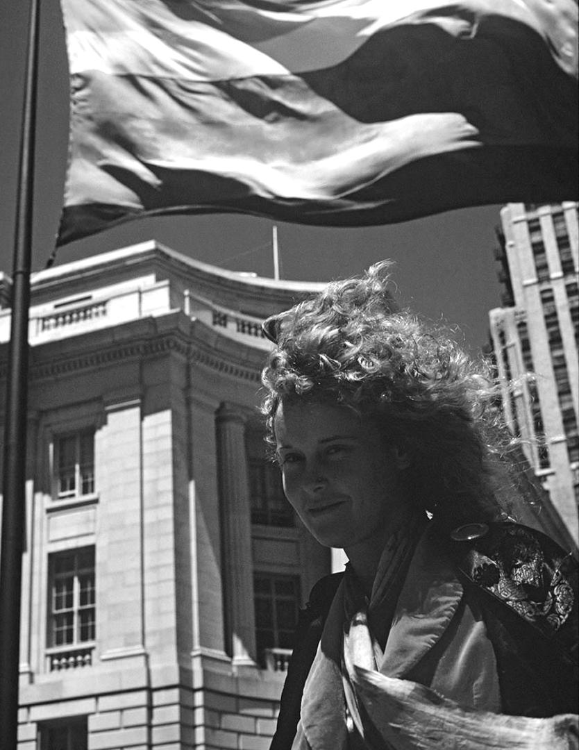 THE RAINBOW FLAG: LYNN SEGERBLOM