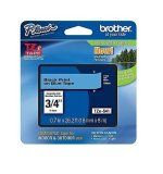 """Brother TZe541 18mm (0.7"""") Black on Blue tape for P-Touch 8m (26.2 ft)"""