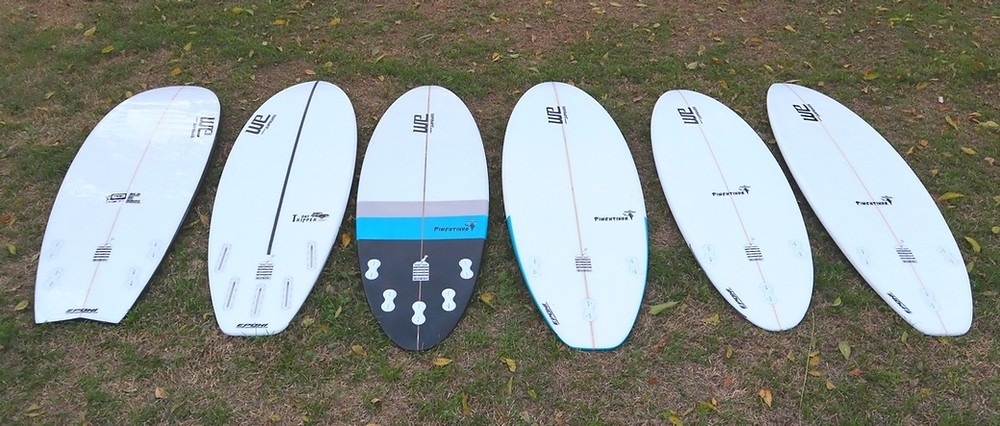 Rabetas, prancha de surf, swallow, round, squash, round
