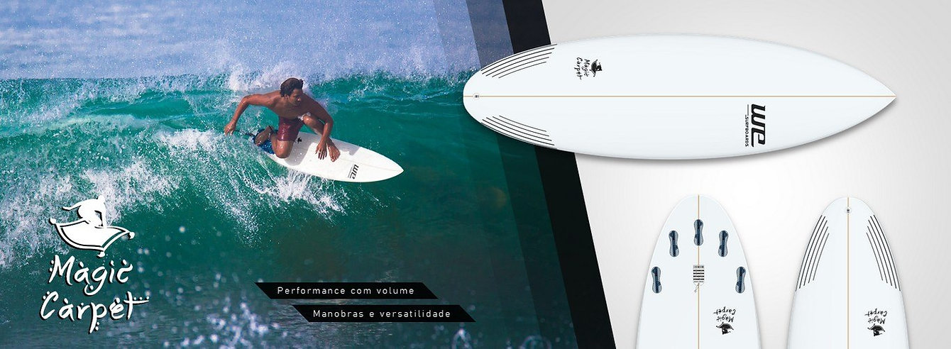 WE Surfboards Magic Carpet prancha de surf performance e dia a dia