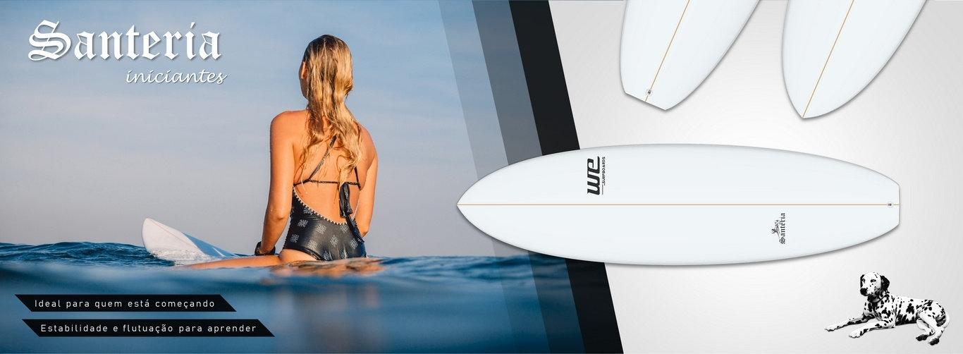 WE Surfboards Santeria Iniciantes prancha de surf para aprender Rio de Janeiro