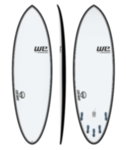 new flow we surfboards prancha de surf branca dia a dia carbono epoxi carbono sem longarina