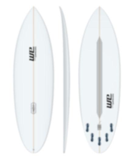 Indotrip we surfboards prancha de surf branca alta performance avançado