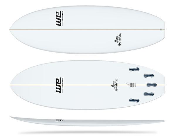 santeria wesurfboards prancha de surf para iniciantes merreca epoxi epoxy branca