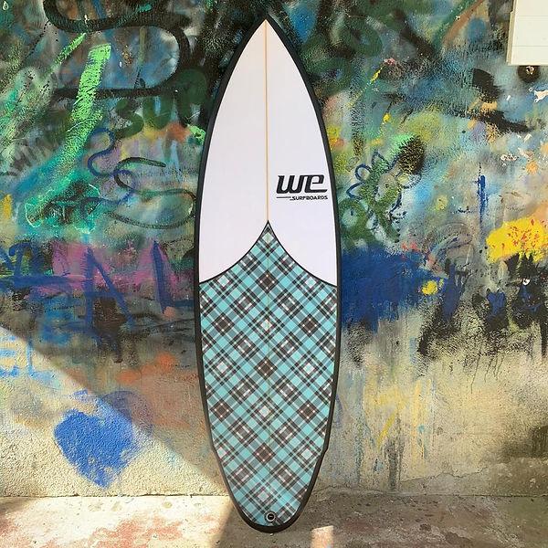 WE Surfboards Rainha do Baile prancha de surf dia a dia Rio de Janeiro