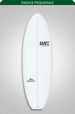 santeria we surfboards prancha de surf merreca pequeno iniciantes