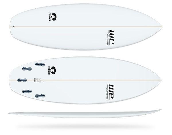 Cabron WE Surfboards prancha de surf ondas pequenas rio de janeiro