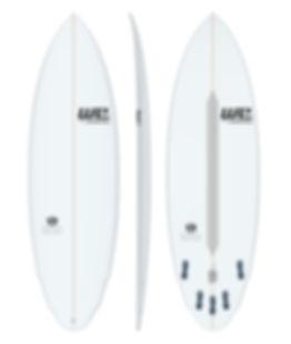 rainha do baile we surfboards prancha de surf branca dia a dia wing