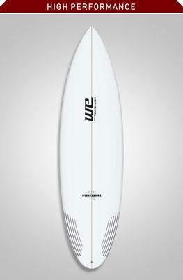 quebradeira we surfboards prancha de surf performance avançado