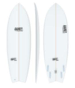 old is cool wesurfboards prancha de surf para iniciantes fish retro swallow branca