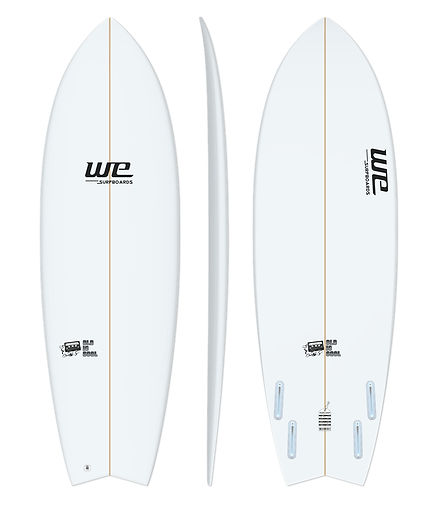old is cool wesurfboards prancha de surf para iniciantes fish retro swallow branca