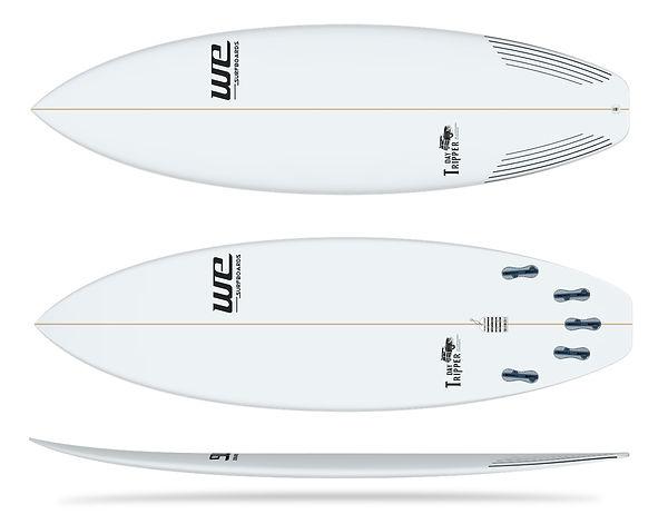 Day Tripper wesurfboards prancha de surf branca dia a dia