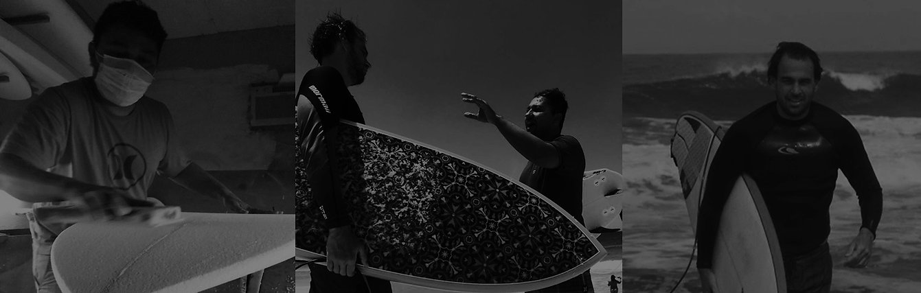 WE Surfboards shaper de prancha de surf shape room laminação