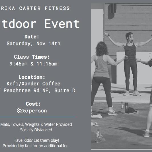 Kefi Outdoor Event 11:15AM