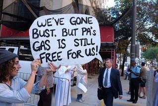 Popes Against Fracking