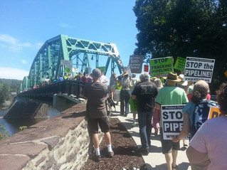 Protest PennEast pipeline