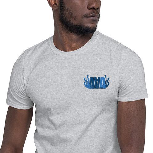 Camiseta de manga corta unisex BORDADA