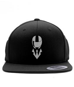 Helmet Snapback - White/Black