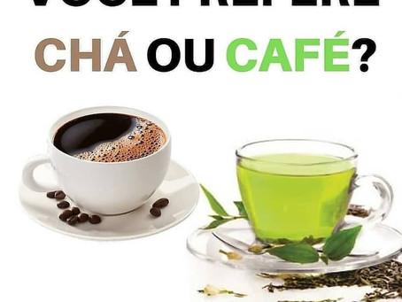 Café ou Chá para a Tireoide