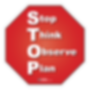 The TSC STOP Sign Poster reminds students of the important steps towards a better decision making process.