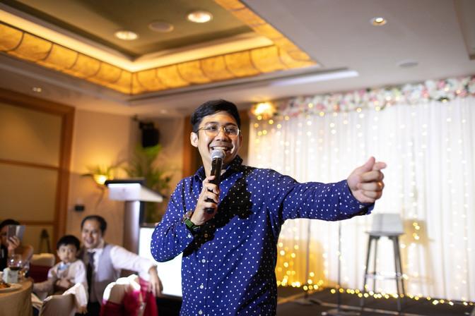 Harris's Wedding @ Singapore Hotel